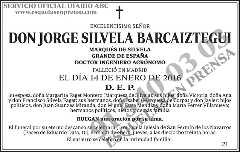 Jorge Silvela Barcaiztegui